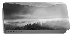 Fog In The Valley Portable Battery Charger