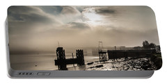 Fog On The River Medway Portable Battery Charger