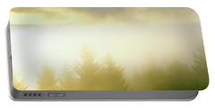 Fog Over Trees, Grasshopper Peak Portable Battery Charger
