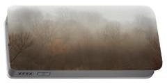 Fog Riverside Park Portable Battery Charger