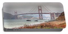 Foggy Bridge Portable Battery Charger