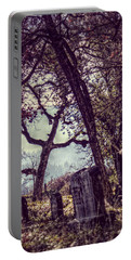 Portable Battery Charger featuring the photograph Foggy Memories by Melanie Lankford Photography
