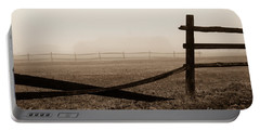 Foggy Pasture Portable Battery Charger