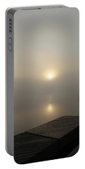 Foggy Reflections Portable Battery Charger