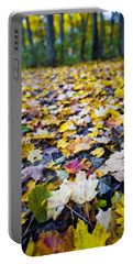 Portable Battery Charger featuring the photograph Foliage by Sebastian Musial