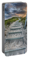 Portable Battery Charger featuring the photograph Follow The Path by Sebastian Musial