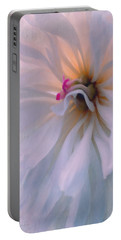 Portable Battery Charger featuring the photograph Romance by Jean OKeeffe Macro Abundance Art