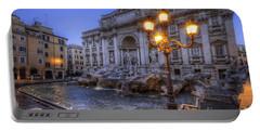 Fontana Di Trevi 3.0 Portable Battery Charger by Yhun Suarez