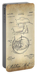 Food Mixer Patent Kitchen Art Portable Battery Charger