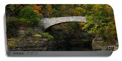 Foot Bridge At Beebe Lake Portable Battery Charger
