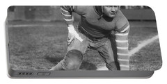 Football Fullback Player Portable Battery Charger by Underwood Archives