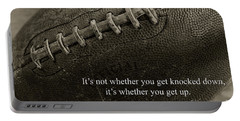 Football Get Up Portable Battery Charger