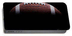 Football Painting Portable Battery Charger by Jon Neidert