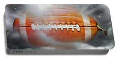 Football Pumpkin Portable Battery Charger
