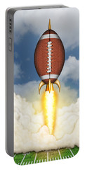 Football Spaceship Portable Battery Charger