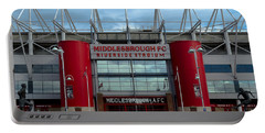Football Stadium - Middlesbrough Portable Battery Charger