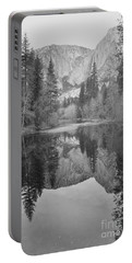 Footsteps Of Ansel Adams Portable Battery Charger by Debby Pueschel