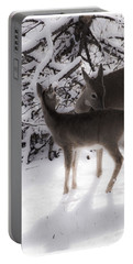 Portable Battery Charger featuring the photograph For The Love by Janie Johnson