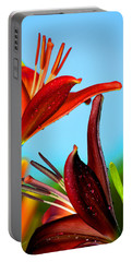 For The Love Of Lillies Portable Battery Charger