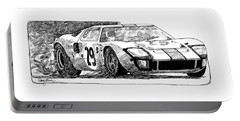Ford Gt - 40 Portable Battery Charger
