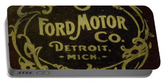 Ford Motor Company Portable Battery Charger