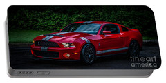 Ford Mustang Gt 500 Cobra Portable Battery Charger