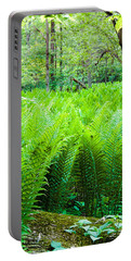 Forest Ferns   Portable Battery Charger