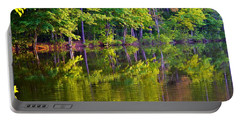 Forest In Reflection Portable Battery Charger