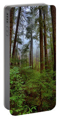 Forest Mist Portable Battery Charger