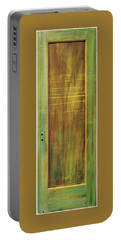 Forest Painted Door Portable Battery Charger by Asha Carolyn Young