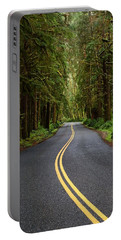Forest Road Portable Battery Charger by David Andersen