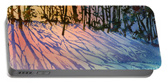 Forest Silhouettes Portable Battery Charger by Teresa Ascone