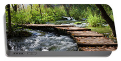 Forest Stream Scenery Portable Battery Charger