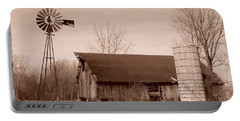 Forgotten Farm Portable Battery Charger by Judy Whitton