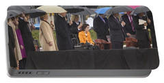 Former Us President Bill Clinton Portable Battery Charger by Panoramic Images
