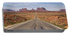 Forrest Gump Monument Valley View Portable Battery Charger