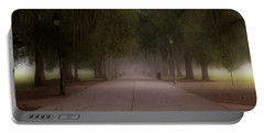 Portable Battery Charger featuring the photograph Forsyth Park Pathway by Frank Bright