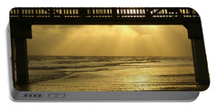 Fort Myers Golden Sunset Portable Battery Charger by Jennifer White