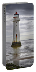 Fort Perch Lighthouse Portable Battery Charger by Spikey Mouse Photography