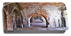 Fort Pickens Archway In Florida Portable Battery Charger