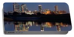 Fort Worth Skyline 020915 Portable Battery Charger