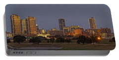 Fort Worth Skyline Golden Hour Portable Battery Charger