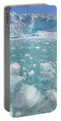 Fortuna Glacier Descending To Antarctic Portable Battery Charger