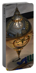Portable Battery Charger featuring the photograph Foucalt's Pendulum by Robert Meanor