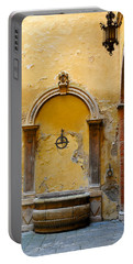 Fountain In Sienna Portable Battery Charger