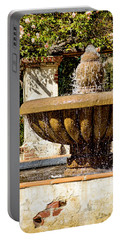 Portable Battery Charger featuring the photograph Fountain Of Beauty by Peggy Hughes