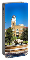 Portable Battery Charger featuring the photograph Fountain Of Knowledge by Mae Wertz