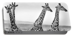 Four Giraffes Portable Battery Charger