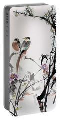 Four Seasons In Harmony Portable Battery Charger
