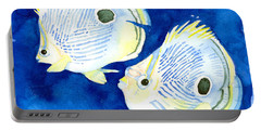 Foureye Butterflyfish Portable Battery Charger
